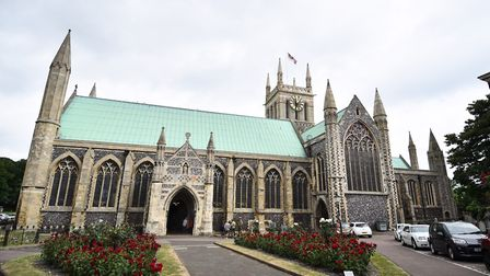 The Devil's Seat was once at the entrance of St Nicholas Church in Great Yarmouth. Picture : ANTONY
