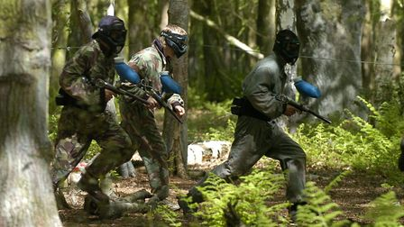 Plans for a paintballing site to be created in woodland near a major dual carriageway could be met w