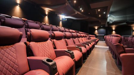 Cinemas like the Majestic Cinema in King's Lynn are seating moviegoers in socially distanced bubbles