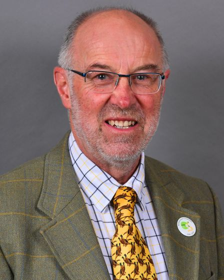 Martin Wilby, Norfolk County Council cabinet member for highways and transport. Pic: Norfolk Conserv