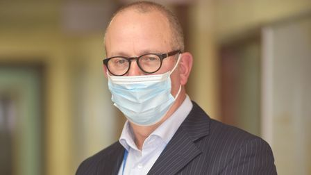 QEH chair Steve Barnett, who has written to MPs appealing for them to support the case for a new hos