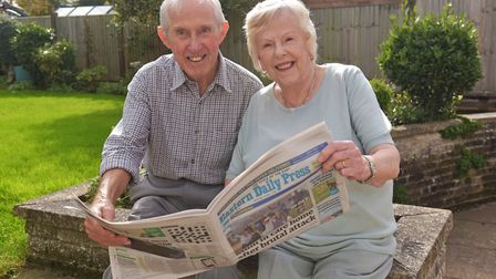 Dick Fincham who was an EDP paperboy in the 1940's, has been a long term reader since then and has h