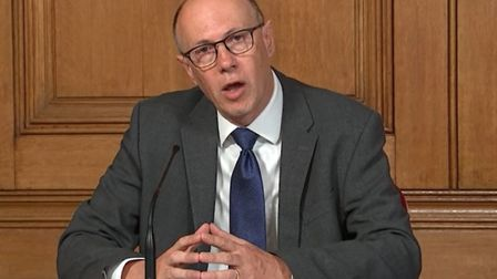 Stephen Powis, national medical director at NHS England. Pic: PA Video/PA Wire