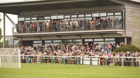 Due to the Covid restrictions, punters cannot pack the Prince of Wales stand at Fakenham Racecourse.