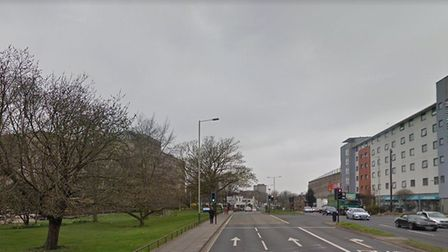 Queens Road in Norwich, near where a woman was sexual assaulted. Picture: Google