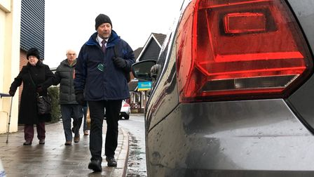 Norfolk County Council has taken action over drivers misusing blue badges. Picture: Archant