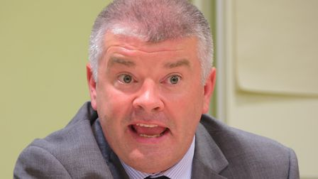 Tom McCabe. head of paid service at Norfolk County Council, has warned the county faces a 'long wint
