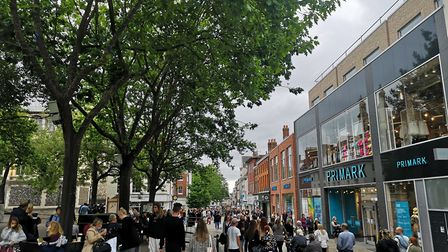 Norwich has seen its highest rate of coronavirus infections, according to Public Health England figu