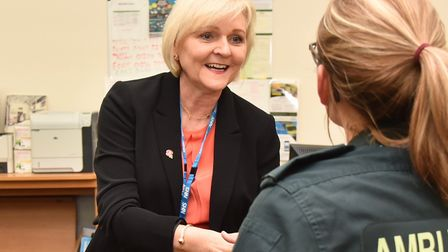 Dorothy Hosein, the chief executive of East of England Ambulance Service Trust (EEAST). Picture: Arc
