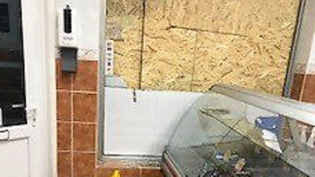 A woman has bee arrested after two attacks at butchers' stores in the county, includsing at Fiddy's