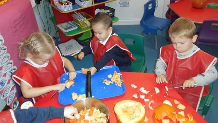 Foodie Friday one of the innovative creative curriculum activities that are part of Early Years at O