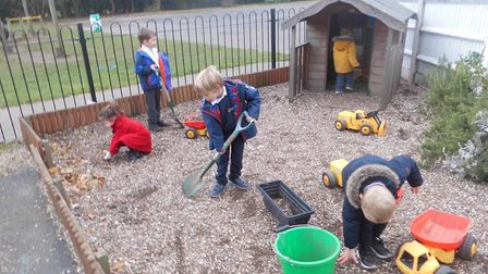 Early Years at Ormiston Herman Academy has been shortlisted for a nationally recognised TES Schools