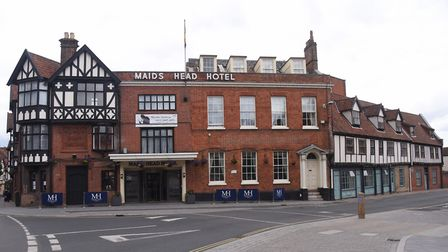 The Maids Head Hotel. Picture: DENISE BRADLEY