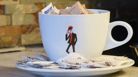 A cup of sugar in the new Tuscan restaurant, The Bridge, in Fye Bridge Street. Picture: DENISE BRADL