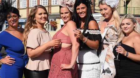 FLASHBACK: Enjoying Ladies Day at Great Yarmouth Racecourse in 2019. The popular fixture delivers th