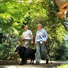 Walking in Sheringham Park, one of the National Trust-owned places in Norfolk. PICTURE: Antony Kelly