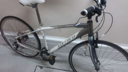 Is this your bike? Four stolen bikes were recovered from a property in Thetford. Photo: Norfolk Poli