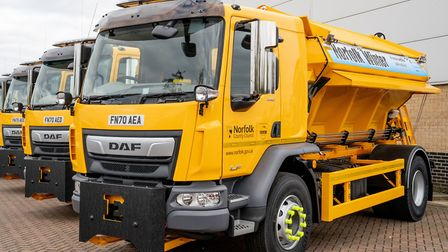 Gritters will be taking to Norfolk's roads for the first time this season. Pic: Norfolk County Counc