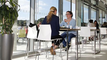The collaborative environment of the Centrum building at Norwich Research Park was ideal for those i