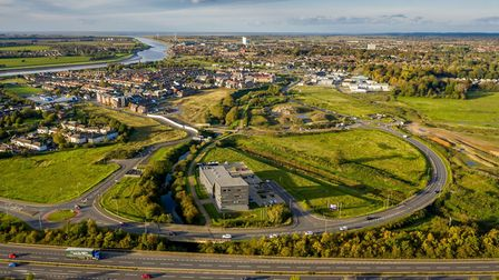 A new business 'incubation hub' will be built on the Nar Ouse Regeneration Area Picture: Matthew Us