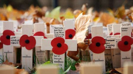 This will be a Remembrance Day like no other, says James, but we will still remember them in our min