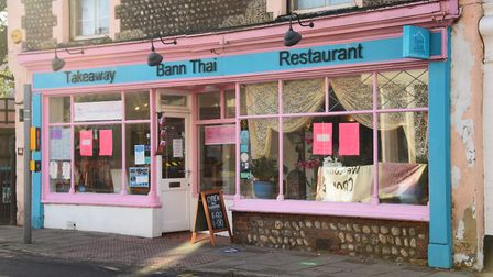 Bann Thai in Cromer, which has won the Good Food Award for best restaurant for the third year in a r