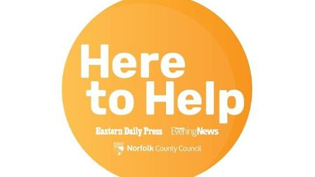 Norfolk Here to Help campaign logo. Picture: Archant