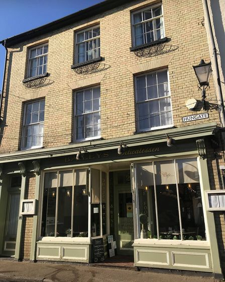 Baileys Bistro in Beccles where they are preparing for lockdown 2.0. Picture: Victoria Pertusa.