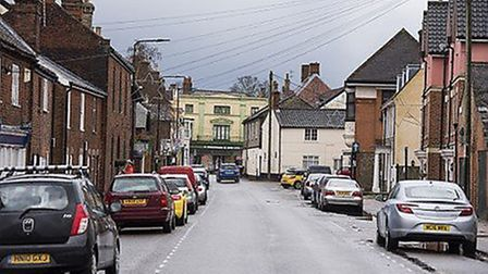 Businesses offering food services can open in Bungay if they offer takeaway service during the secon