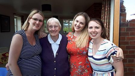 Anna Perrott has paid tribute to her grandmother Rita Perrott, who the family took out of her care h