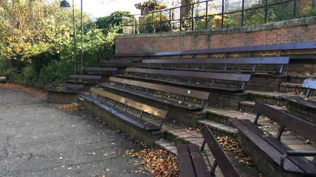 Seating options galore in Norwich's Castle Gardens. Picture: Nick Richards