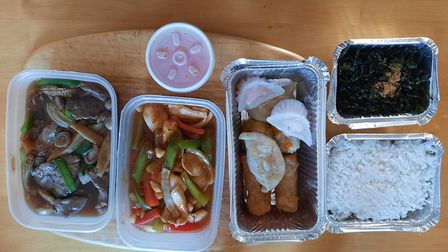 A range of dishes from Baby Buddha in Norwich. Picture: Nick Richards