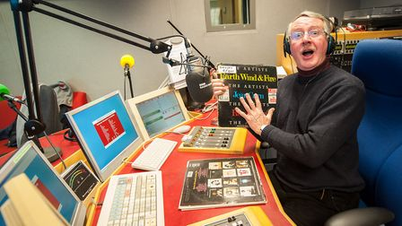 Wally Webb shocked BBC Radio Norfolk listeners on Saturday morning by announcing his retirement Ph