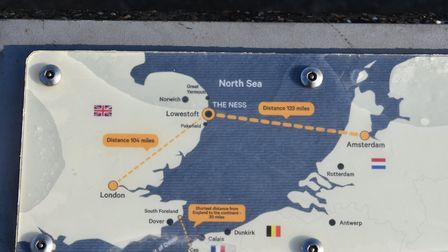 Work to create a new £1m park and gateway at The Ness in Lowestoft has been completed. Pictures: Mi