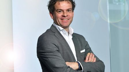 Remco Lucassen, international project manager at OostNL, the East Netherlands Development Agency. Pi