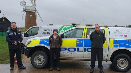 PC Paul Bassham out on patrol with Norfolk Constabulary's Broads Beat. Picture: Norfolk Constabulary