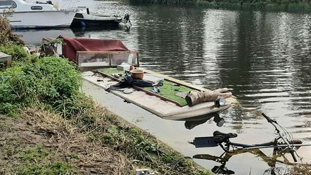 """The number of vulnerable people living in """"make-shift accommodation"""" on the Norfolk Broads has incre"""