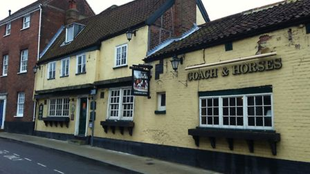 The Coach and Horses in Bethel Street is under temporary management as owners Greene King look for n