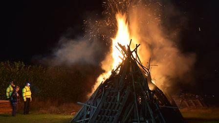 The Wroxham Barns display will also have a bonfire Picture: Sonya Duncan