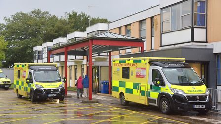 The Queen Elizabeth Hospital in Kings Lynn, where Dr Geogloman is a surgeon Picture: Sonya Duncan