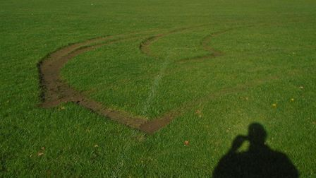 Damage to the Myers Playing Field in Swaffham, where Swaffham Town Football Club (STFC) play, was di