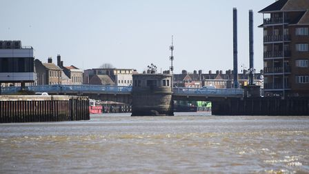 The Haven Bridge at Great Yarmouth. Picture: DENISE BRADLEY