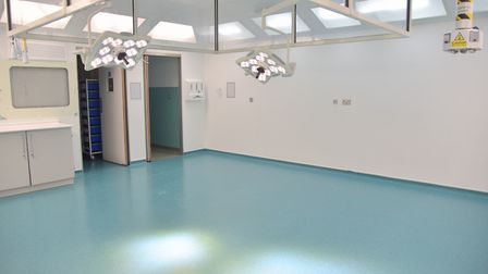 One of the two additional operating theatres at the hospital Picture: Sonya Duncan
