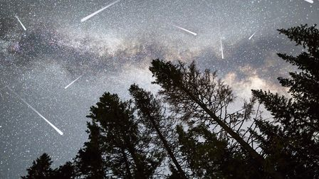 The Leonid meteor shower is set to peak on November 16 and 17. Picture: Getty Images/iStockphoto