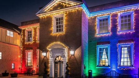 The Assembly House at Christmas. Photo: Steve Adams Photography