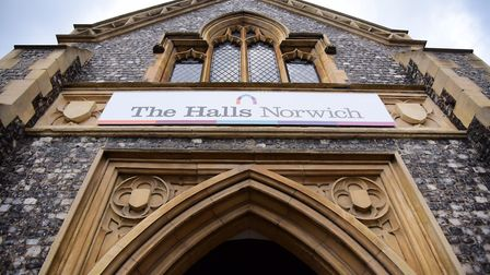 St Andrews Hall, and Blackfriars Hall, known together as The Halls. Picture: DENISE BRADLEY