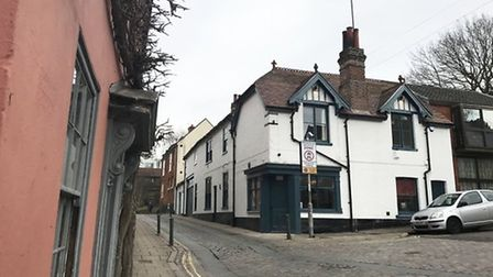 The new Chick Inn at Micawber's in Pottergate. Pic: EDP