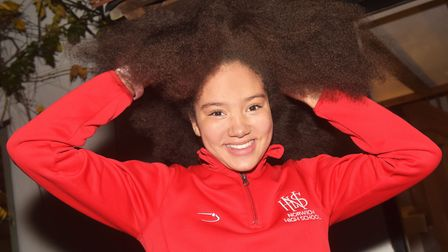 Carly Gorton, 10, wishes to donate her hair to charity, but it turns out there is difficulty making