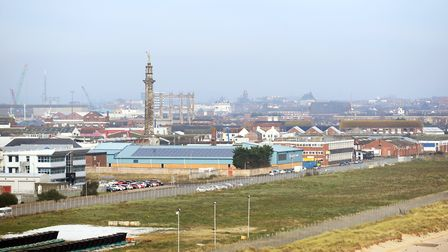 A campus to serve the off-shore energy industry could be created at South Denes in Great Yarmouth.