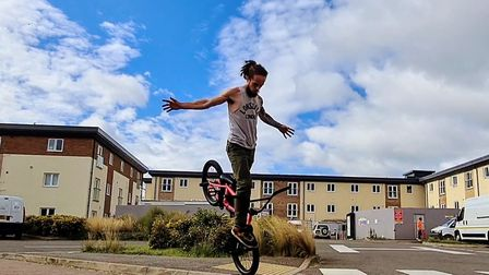 Justin Wakefield has moved to Fakenham as he hopes to get people back on their bikes. Picture: Justi